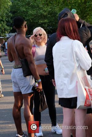 Lily Allen - Wireless Festival 2015 - Week 2 - Day 1 - Celebrity Sightings at Wireless Festival - London,...