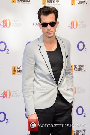 Mark Ronson - Nordoff Robbins O2 Silver Clef Awards held at Grosvenor House - Arrivals at Grosvenor House - London,...