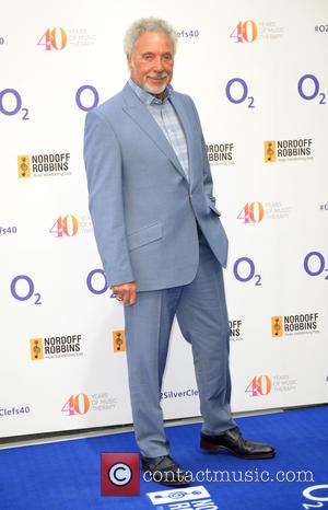 Tom Jones - Silver Clef Awards held at Grosvenor House Hotel - Arrivals at Grosvenor House - London, United Kingdom...