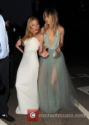 Clara Paget and Suki Waterhouse