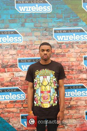 Vince Staples - Wireless Festival 2015 - Week 2 - Day 1 - Backstage at Wireless Festival - London, United...