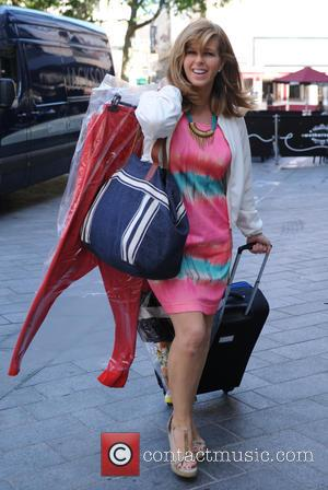 Kate Garraway - Kate Garraway arrives at Global Radio studios - London, United Kingdom - Friday 3rd July 2015