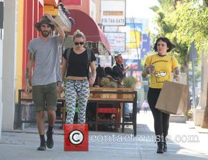 Miley Cyrus, Cheyne Thomas and Lauren Winzer