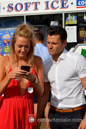 Mark Wright - Mark Wright attends Coral-Eclipse Day at Sandown Park Racecourse at Sandown Park - Esher, United Kingdom -...
