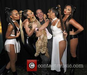 Little Mix, Jeremy Joseph, Jade Thirlwall, Perrie Edwards, Leigh-Anne Pinnock and Jesy Nelson