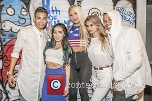 Roshon Fegan, Chelsea Pereira, Jeffery Exclusive and Tierra Lee