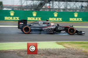 Jenson Button - Formula 1 British Grand Prix at Silverstone - Qualifying - Silverstone, United Kingdom - Saturday 4th July...