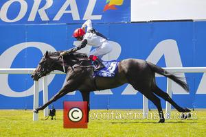 Golden Horn and Frankie Dettori - Coral-Eclipse Day at Sandown Park Racecourse at Sandown Park - Esher, United Kingdom -...