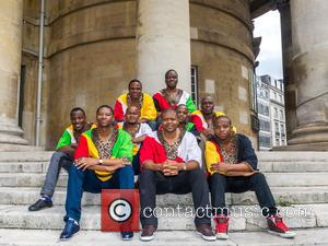 Ladysmith Black Mambazo, Atmosphere and View - Grammy Award-winning South African choral band, Ladysmith Black Mambazo. The band are visiting...