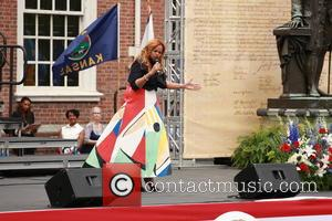 Karen Clark Sheard - Philadelphia's Independence Day celebration at Independence Hall featuring Karen Clark Sheard - Philadelphia, Pennsylvania, United States...
