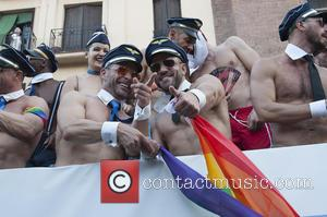 Atmosphere - Madrid Gay Pride 2015 - Madrid, Spain - Sunday 5th July 2015
