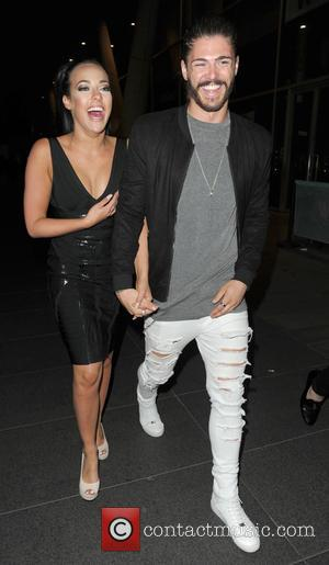 Steph Davis and Sam Reece - Hollyoaks star Steph Davis out on the town with new boyfriend Sam Reece at...