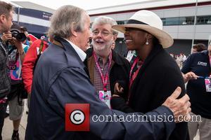 Sir Jackie Stewart, George Lucas and Mellody Hobson