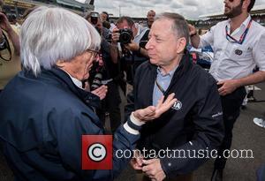 Bernie Ecclestone and Jean Todt - Formula 1 British Grand Prix at Silverstone - Race Day - Silverstone, United Kingdom...