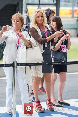 Carol Vorderman - Formula 1 British Grand Prix at Silverstone - Race Day - Silverstone, United Kingdom - Sunday 5th...