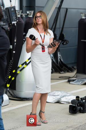 Suzi Perry - Formula 1 British Grand Prix at Silverstone - Race Day - Silverstone, United Kingdom - Sunday 5th...