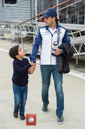 Felipe Massa and Son