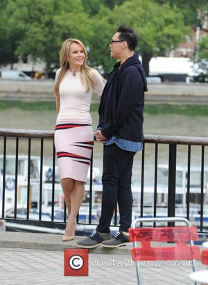 Gok Wan and Amanda Holden