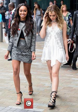 Perrie Edwards and Leigh-anne Pinnock
