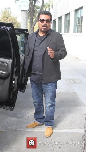George Lopez - Comedian George Lopez goes shopping in Hollywood - Los Angeles, California, United States - Monday 6th July...