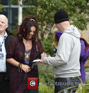 Jesy Nelson - Little Mix at Media City in Manchester at Media City - Manchester, United Kingdom - Monday 6th...