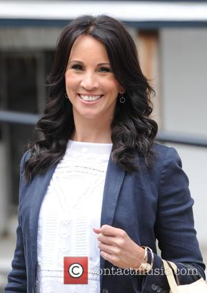 Andrea McLean - 'Loose Women' cast leaving ITV Studios - London, United Kingdom - Monday 6th July 2015