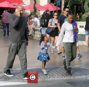 Mel B, Melanie Brown, Stephen Belafonte and Madison Brown Belafonte