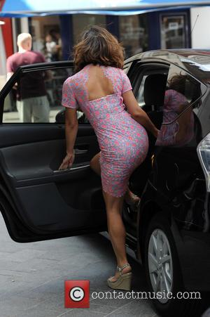 Myleene Klass - Myleene Klass leaves Global House - London, United Kingdom - Monday 6th July 2015