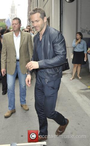 Ryan Reynolds - Ryan Reynolds leaving the Huffington Post - Manhattan, New York, United States - Monday 6th July 2015