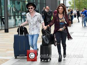 Jesy Nelson and Jake Roche - Little Mix at the BBC Breakfast studios at Media City - Manchester, United Kingdom...