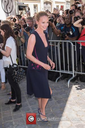 Laura Haddock - Paris Fashion Week Haute Couture: Dior, arrivals held at the Musee Rodin. - Silverstone, United Kingdom -...