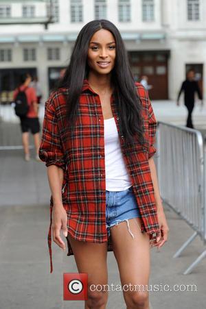 Ciara - Ciara sighting at BBC Radio 1 - London, United Kingdom - Monday 6th July 2015