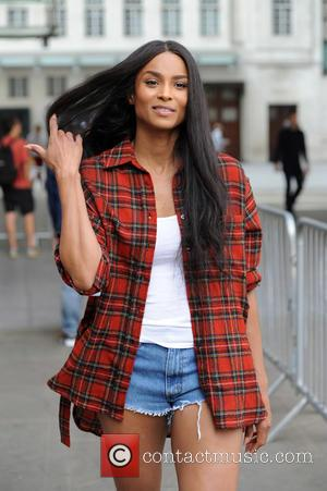 Ciara - Ciara sighting at BBC Radio 1 - London, United Kingdom - Monday 6th July 2015