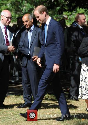 Prince William - Prince William arrives at the afternoon service for London 7/7 bombings. - London, United Kingdom - Tuesday...