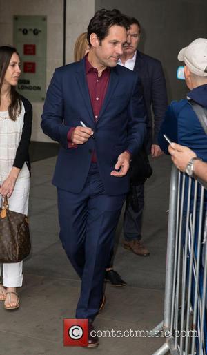 Paul Rudd - Celebrities at BBC Radio 1 at BBC Portland Place - London, United Kingdom - Tuesday 7th July...