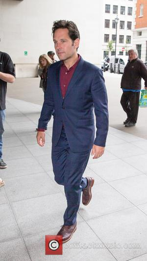 Paul Rudd - Paul Rudd pictured arriving at the BBC Studios at BBC Portland Place - London, United Kingdom -...
