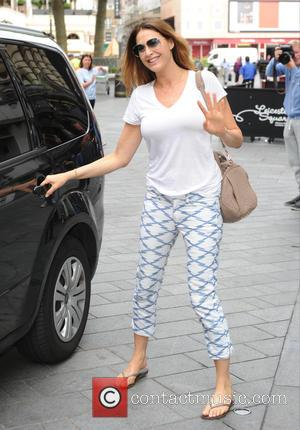 Lisa Snowdon - Lisa Snowdon seen out in London - London, United Kingdom - Tuesday 7th July 2015