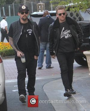 Joel Madden - Joel Madden arrives at House of Harlow 1960 Pop-Up Shop at The Grove in Hollywood - Los...
