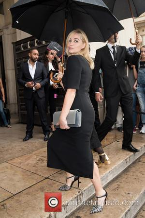 Emmanuelle Beart - Paris Fashion Week - Emporio Armani - Arrivals - Paris, France - Tuesday 7th July 2015