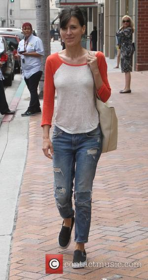 Perrey Reeves - Actress Perrey Reeves goes shopping in Beverly Hills - Los Angeles, California, United States - Tuesday 7th...