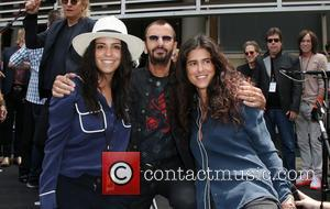 Francesca Gregorini, Ringo Starr and Olga Segura