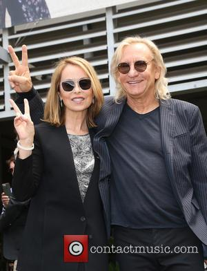 Marjorie Bach and Joe Walsh