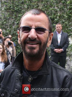 Ringo Starr - Birthday fan gathering for Ringo Starr's 75th and to call for peace throughout the world at On...