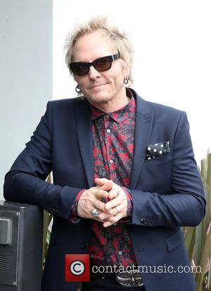 Matt Sorum - Birthday fan gathering for Ringo Starr's 75th and to call for peace throughout the world at On...