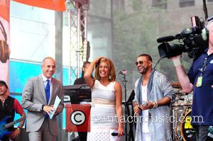 Hoda Kotb, Matt Lauer and Shaggy
