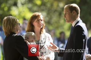 Prince William and Family members - Families attend a service in memory of the 7/7 bombings in 2005 at the...