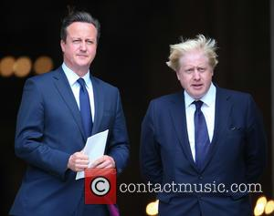 David Cameron MP and Boris Johnson MP - Prince Andrew, Duke of York, Prime Minister David Cameron and Mayor of...