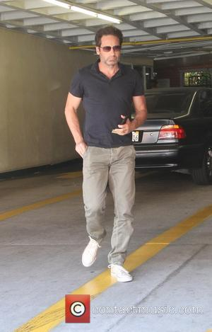 David Duchovny - David Duchovny running errands in Beverly Hills - Los Angeles, California, United States - Tuesday 7th July...
