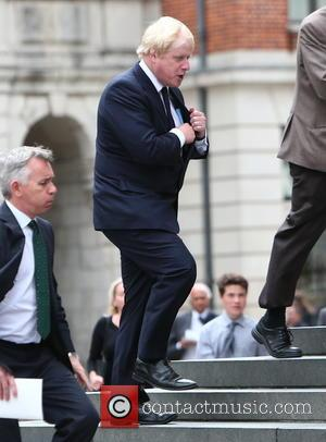 Boris Johnson - Tenth anniversary of the London 7/7 bombings memorial service at St Paul's Cathedral - London, United Kingdom...