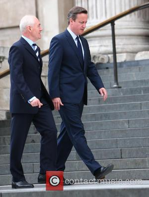 David Cameron - Tenth anniversary of the London 7/7 bombings memorial service at St Paul's Cathedral - London, United Kingdom...